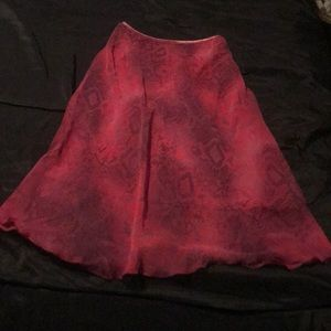 Women's Studio Y polyester size small skirt